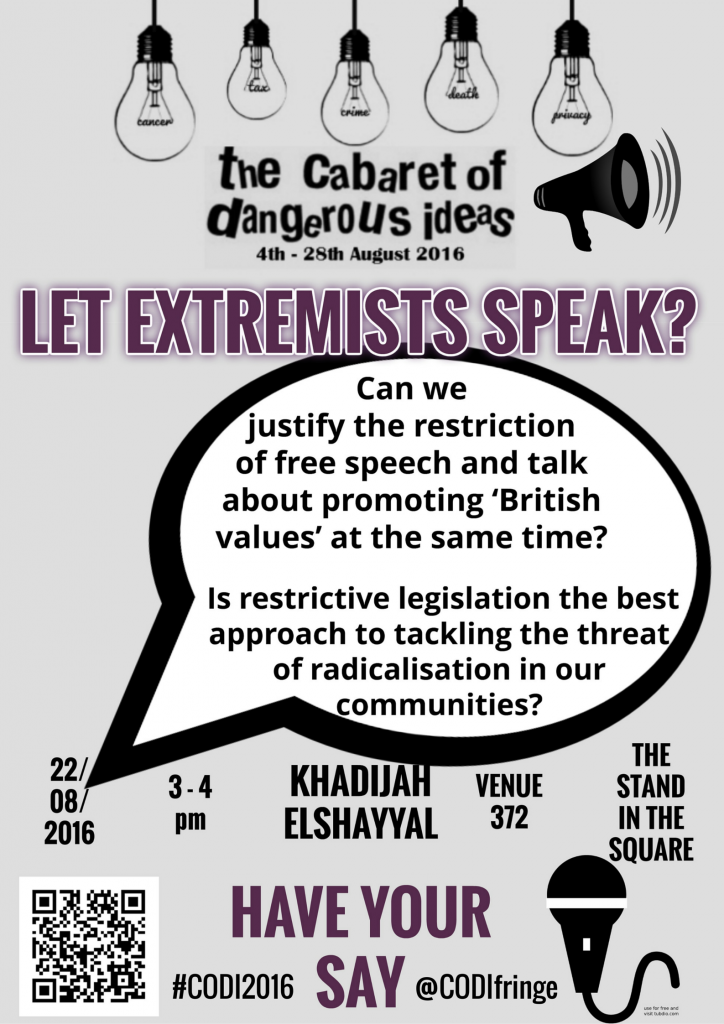 Extremists poster